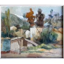 Diego Rivera Oleo Sobre Tela Original Certificado