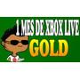 Cuenta Nueva De Xbox Live 1 Mes Para Xbox 360 0 (xbox One)