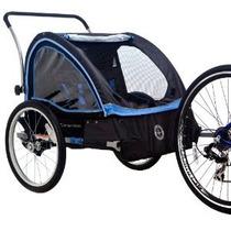 Remolque Schwinn Scouts De Bicicletas Negro / Azul