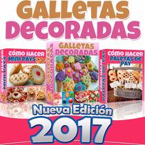 Nuevo Libro 2015 Hacer Galletas Decoradas Paso A Paso 3x2