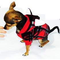 Ropa Para Perro Abrigo Gorro Orejas Calientito Mascota