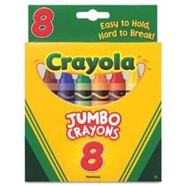 Así Grandes Crayones Grandes (8 / Caja) [conjunto De 2]