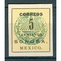 Sc 407 Año 1914 Sonora. Mexico.