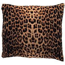 Juego De 2 Cojines Leopardo Animal Print De 43 Cm Con Cierre