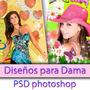 Fotomontajes Editables Plantillas Psd Para Damas