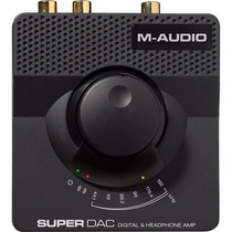 M-audio Super Dac-ii Conversor De Señal Digital A Analógica