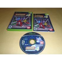 Digimon World 4 Xbox Excelente Estado No Rayado Completo