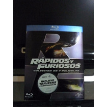 Rapidos Y Furiosos Coleccion De 7 Peliculas Blu Ray Set Box