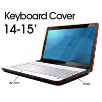 Skin Protector De Teclado Para Laptop 14-15 Pulgadas