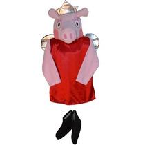 Disfraz Inspirado En El Personaje De Pepa Pig