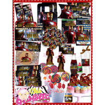 Kit Imprimible Personalizable Iron Man, The Avengers, Iron