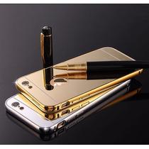 Funda Iphone 6 Bumper Lujo Modo Espejo Aluminio Buen Fin