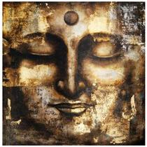 Cuadro Buda Antich Hecho En Hoja De Oro Sobre Madera