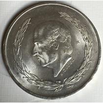 Moneda 5 Pesos 1953 Plata Excelente Condicion