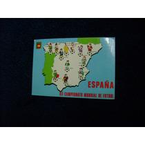Mundial De Futbol España 82 Postal B
