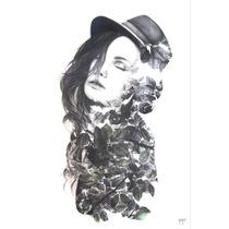 Dibujo A Lápiz - Belleza Natural 72x96