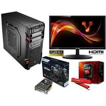 Pc Computadora Fx8320-video 2gb Ddr5 Ssd120 Hd 1tb-led 22