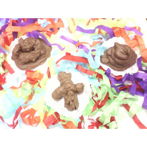 Popo Caca De Chocolate Para Diversión O Rencor 14 Febrero