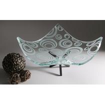 Frutero Centro De Mesa De Cristal Moderno Decorativo Bowl