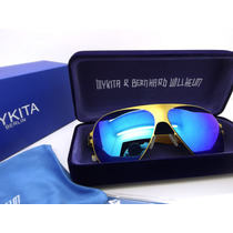 Mykita Franz Gold Blue Original + Envío Gratis Promoción