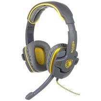 Sades New Arrival Sa-708 Zombie Version Stereo Headphone Com