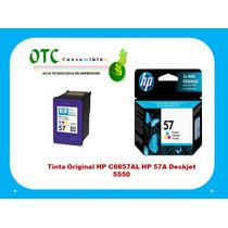 Tinta Original Hp C6657al Hp 57a Deskjet 5550