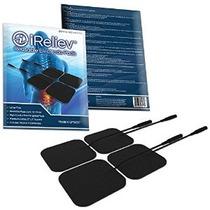 Ireliev Premium Reutilizables Tens Electrodos De Desfibrilac