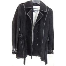 Abrigo Chamarra Gabardina Piel Extra Grande Wilson Leather