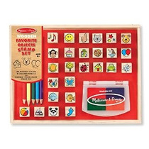 Melissa & Doug Madera Favorite Things Estampan El Sistema