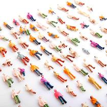 50 Piezas De Figuras Humanas Para Maquetas Scala 1:100 1:87