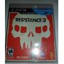Ps3 Resistance 3 $280 Pesos - Seminuevo - Mikegames