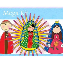Kit Imprimible Invitaciones De Virgencitas Santos Y Mas 2x1