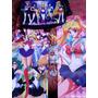 Set Sailor Moon Mochila Poster Medalla Llavero