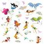 Compañeros Rmk1493scs Disney Fairies Tatuajes De Pared Con G