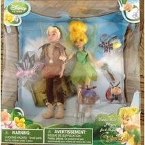 Tinker Bell Playset Disney Store Pareja Campanita Y Peter