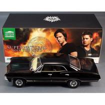 Coche De La Serie Supernatural Impala 1967 Escala 1/18
