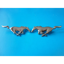 Emblemas Ford Mustang Caballos 9.5 Cm. Metalicos