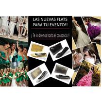 Pantuflas Y Flats Para Boda, Xv Años, Económicas
