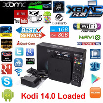 Smart Tv Android Tv Box Quad Core 1gb Ram 8gb Full Hd Wifi