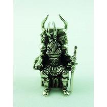 Odín, Escultura Metálica, Miniatura Única Y Muy Rara, Thor