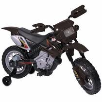 Motocross Montable Para Niños Y Niñas Rosa Negro Roja