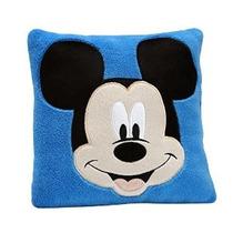 Disney Mickey Almohada Decorativa Azul
