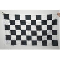 Bandera A Cuadros, Carreras, Fórmula 1, F1, Nascar 1.5m X 90