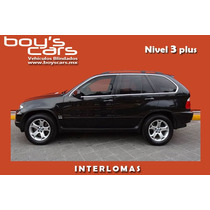 Bmw X5 Top Line 2006 Blindada Nivel 3 Plus