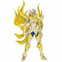 En Mano Saint Seiya Myth Cloth Ex - Aioria Leo Soul Of Gold