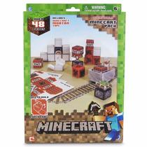 Minecraft 48 Piezas Figuras De Colección Armables