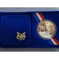 Dolar Liberty 1986 Con Estuche Y Coa