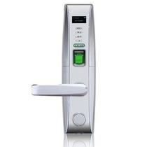 Cerradura Biometrica Plateada Izquierda/ Menu En Pantalla/ U