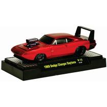 M2 Machines Dodge Charger Daytona 69 1/64 Metal Llantas Goma