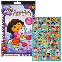 Dora La Exploradora Sticker Pad Con Más De 270 Pegatinas